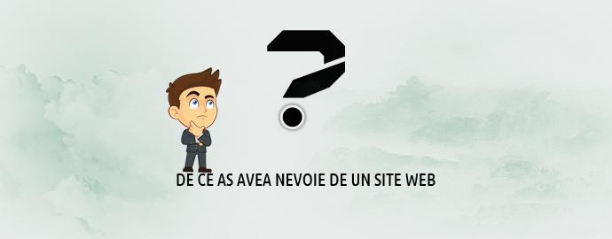 De ce am nevoie de un site web