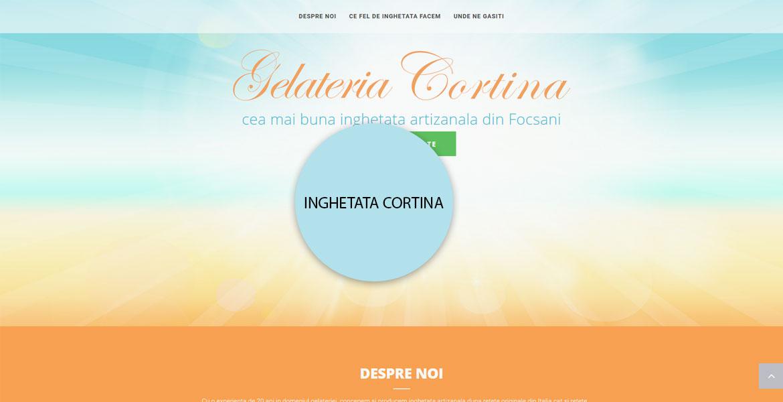 Inghetata Cortina